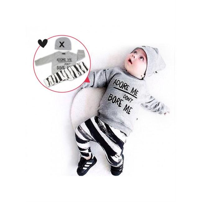 Babysetje | Adore me, Don't .. - 3 tot 6 Maanden