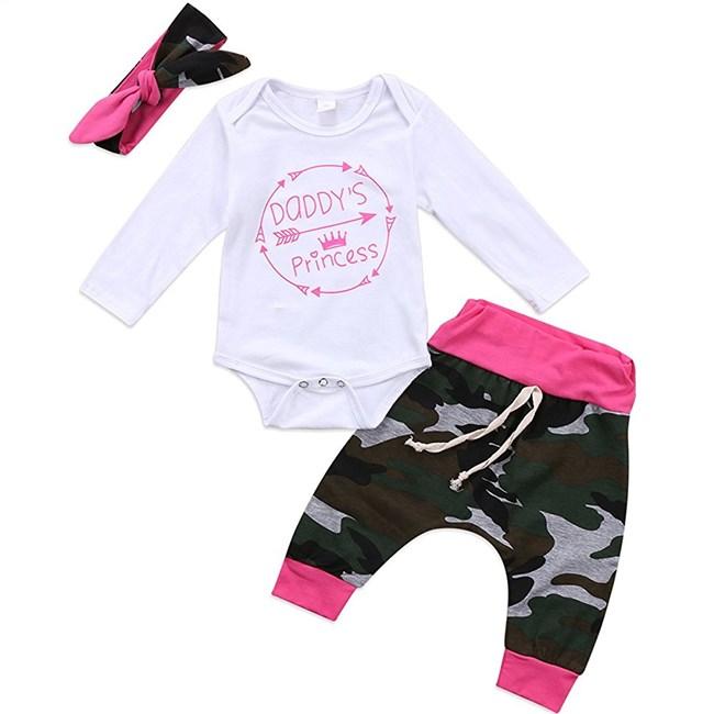 Babysetje | Daddy's Princess - 3 tot 6 maanden