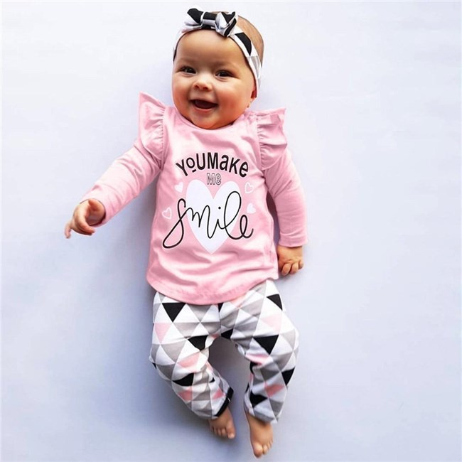 Babykleding Setjes.Babysetje You Make Me Smile 3 Tot 6 Maanden Babykleding Baby
