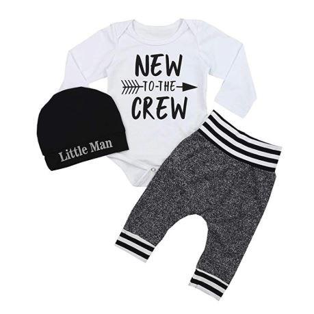 Babysetje | New to the Crew - 3 tot 6 Maanden