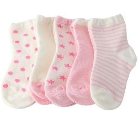 Babysokken | 5 paar - Roze