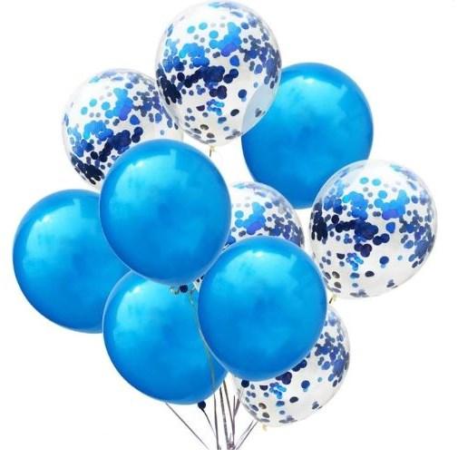 Geboorte Ballonnen Blauw - 10 Stuks