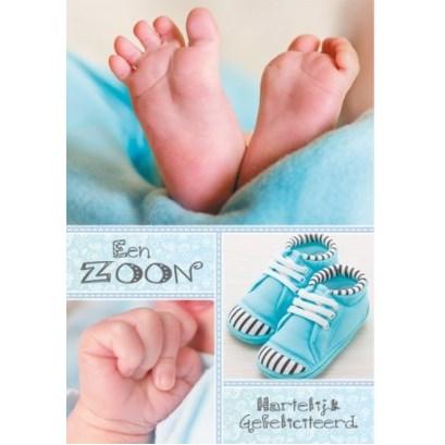 Geboortjekaart - Zoon