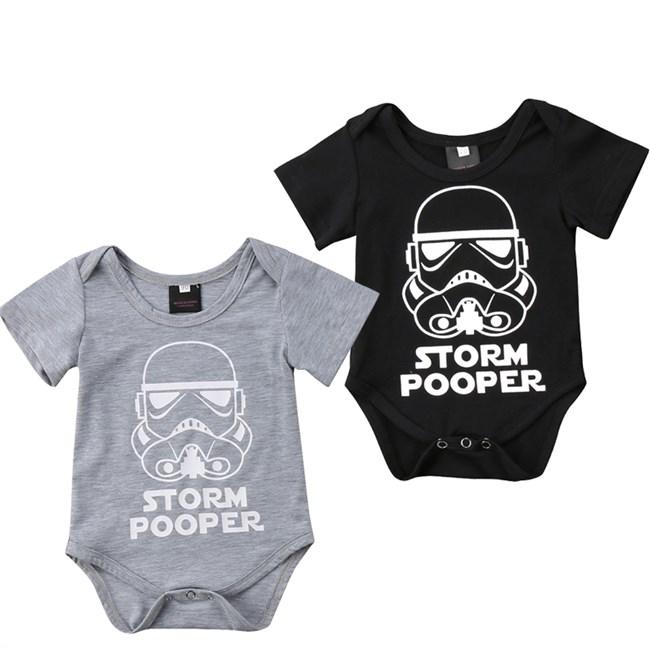 Set van 2 Rompers - Storm Pooper