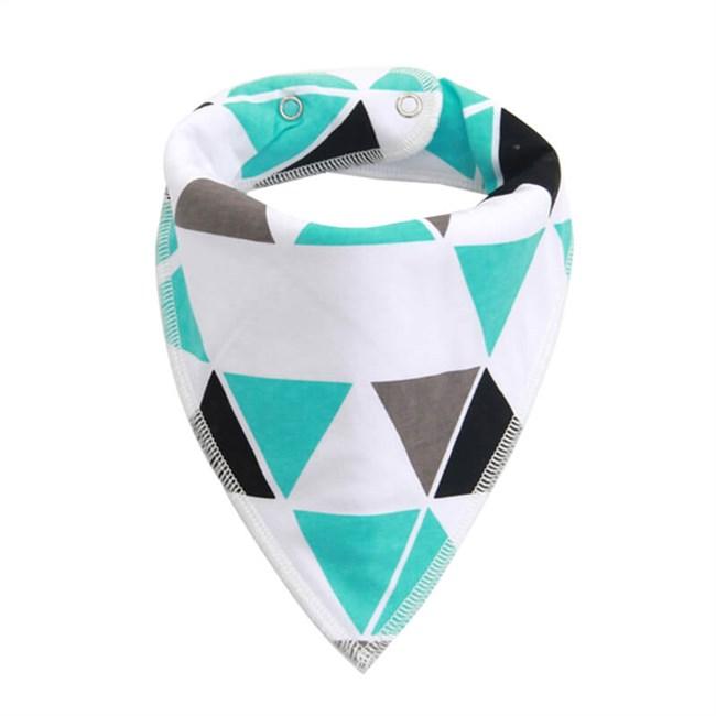 Moderne Slabber Driehoek - Blauw/Zwart/Grijs