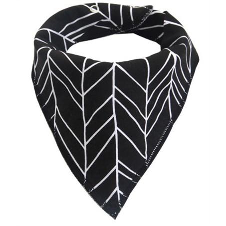 Moderne Slabber Driehoek - Zwart/Wit
