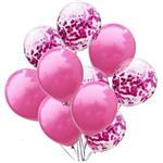 Geboorte Ballonnen Roze - 10 Stuks