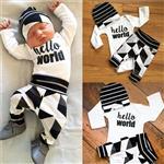 Babysetje | Hello World - 3 tot 6 Maanden