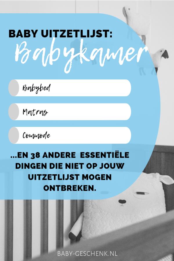Baby uitzetlijst