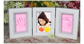 Babyshower cadeaus - klei-inkt afdruk
